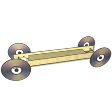Rubber band racer kits the enforcer doc fizzix